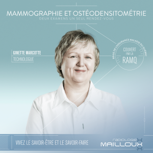 #mammographie #osteodensitometrie #RadiologieMailloux #radiographie